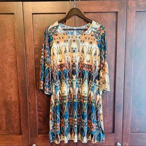 Gorgeous print dress/tunic!